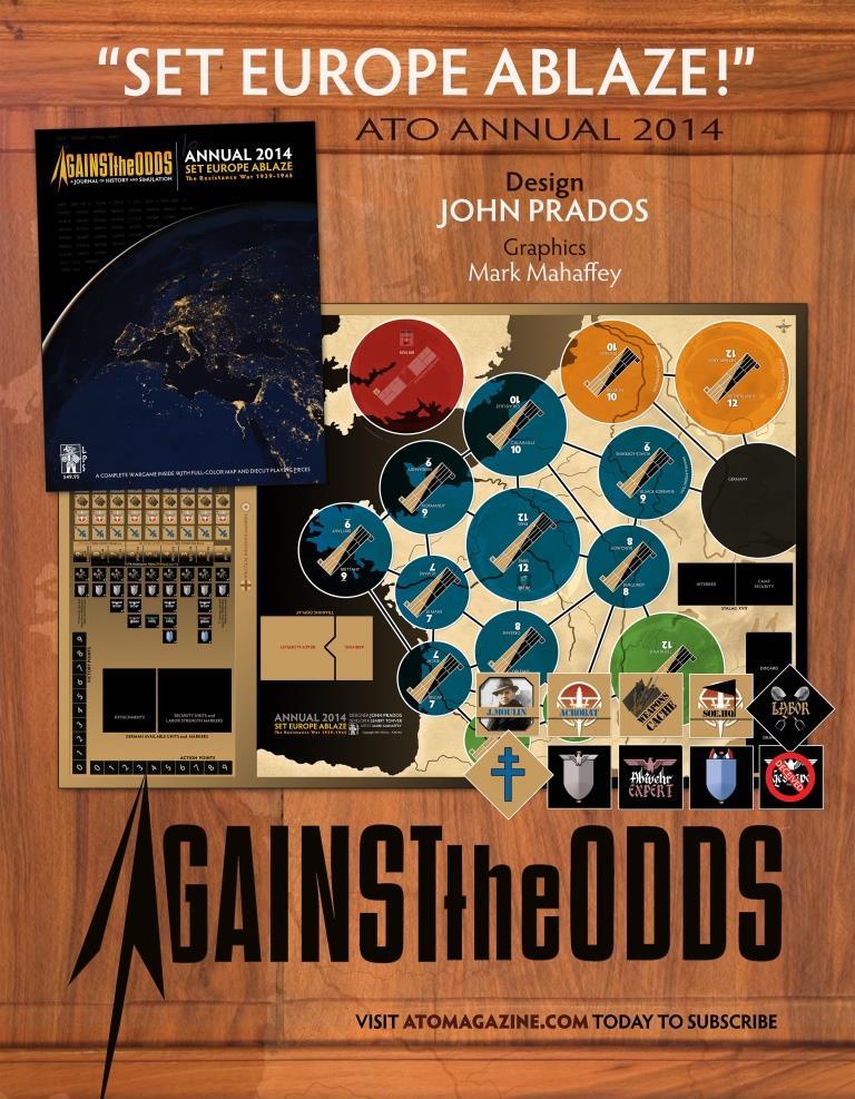 Spring 2015 Newsgram from Against the Odds Magazine